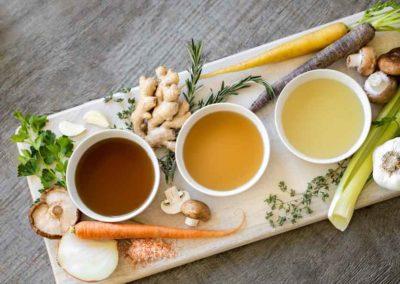 Möhren-Kokos-Suppe