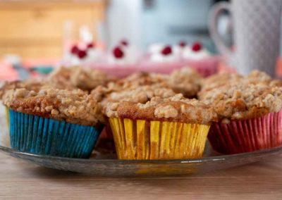 Rhabarber-Dinkel-Muffins