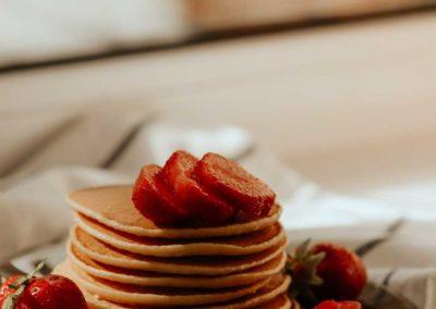 Süße Pfannkuchen aus Linsen